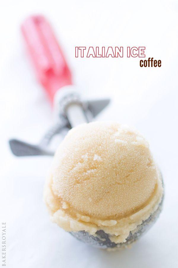 Italian Ice Coffee ~ A 3-ingredient recipe!