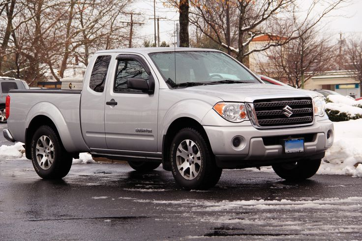 Ever Seen a Suzuki Pickup? Basically the same as a Nissan Frontier.