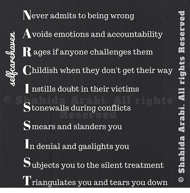 """Exposing the narcopaths on Instagram: """"NARCISSIST. #narcissist #narcism #narcabuse #narcissisticpersonalitydisorder"""""""