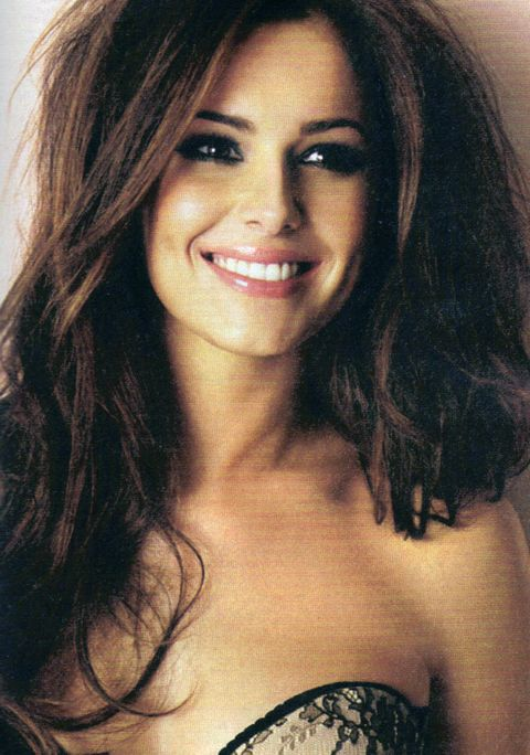 Cheryl Cole and her perfect face
