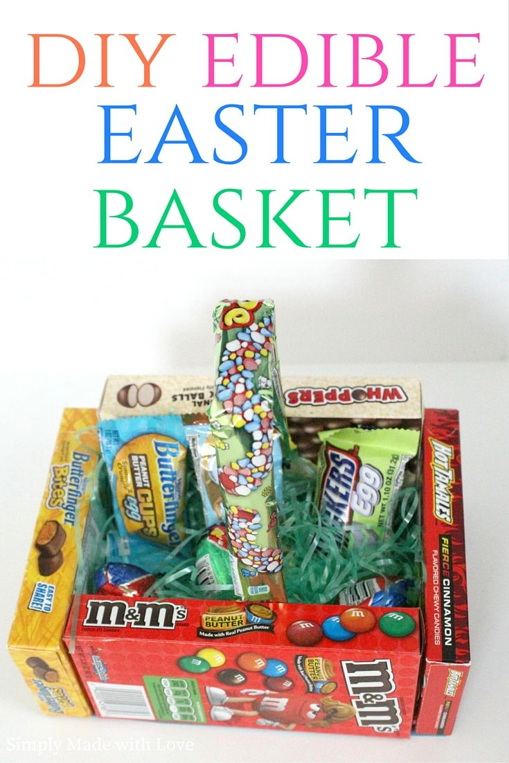 simply made with love: DIY Edible Easter Basket