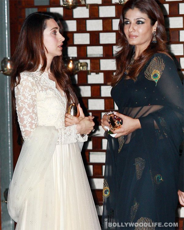 The two actors made headlines in the early `90s for their infamous catfight over Ajay Devgn. But that was almost a decade back! Now their friendship has taken a turn… and that too for the better Rumour mills in the `90s worked overtime churning out stories about the alleged rivalry between Karism