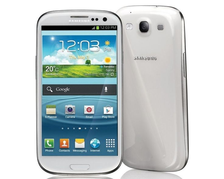 """Samsung Galaxy S lll/S3 SCH-i535 CDMA Verizon & GSM Unlocked with 4.8"""" HD Super AMOLED Screen, 8MP Camera, Android OS 4.0, A-GPS and Wi-Fi - No Warranty Marble White Price:$269.88 & FREE Shipping You Save:$530.11 (66%)"""