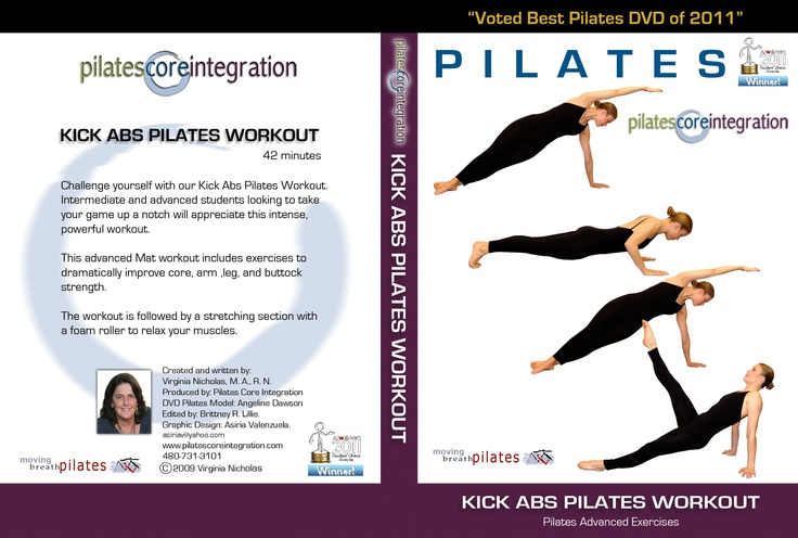 Voted best Pilates dvd 2011 by About.com.