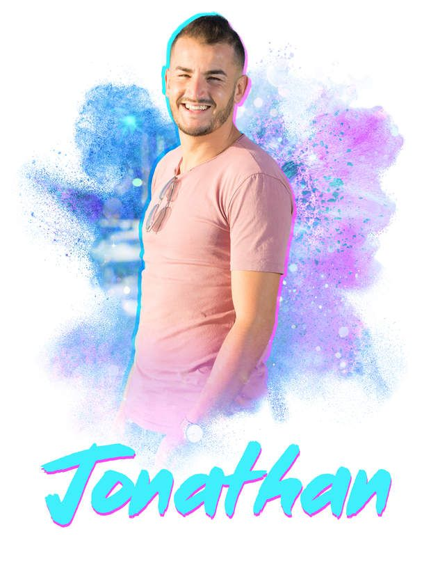Jonathan espère devenir joueur de foot !