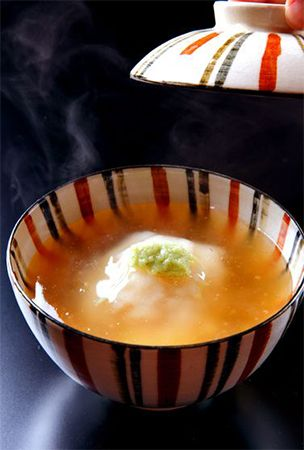 Japanese steamed and starch-rich lotus