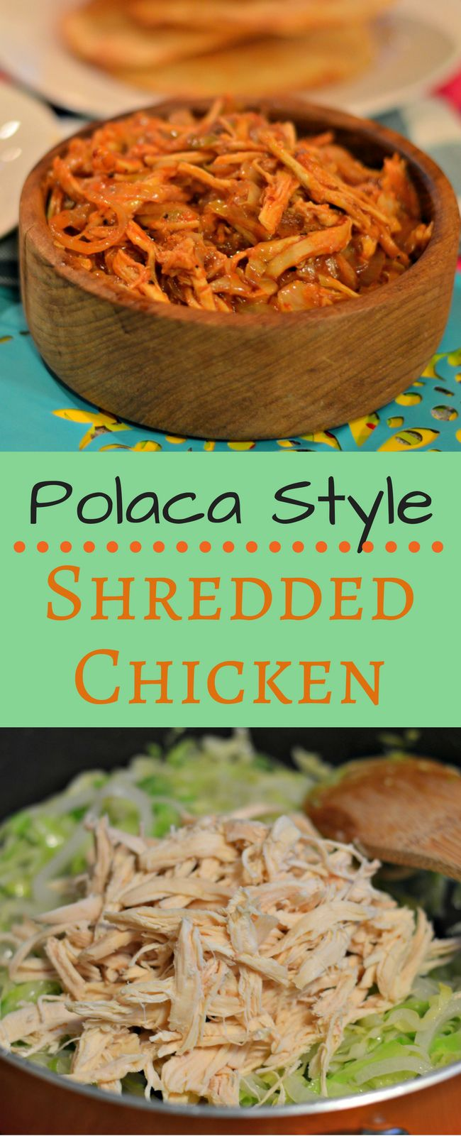 This Polaca Style Shredded Chicken is a traditional Mexican meal that is perfect for any celebration. #AddFlavor #ad