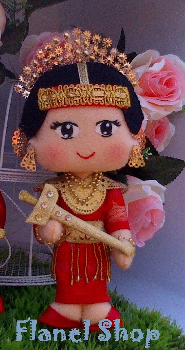 Wedding Costume Female Toraja