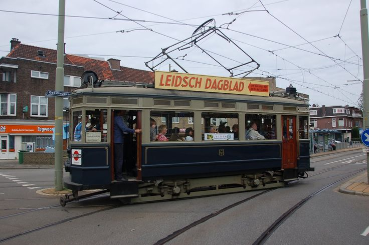 RETOURTJE LEIDEN: Zaterdag 5 november: Blauwe Tram in Haags centrum