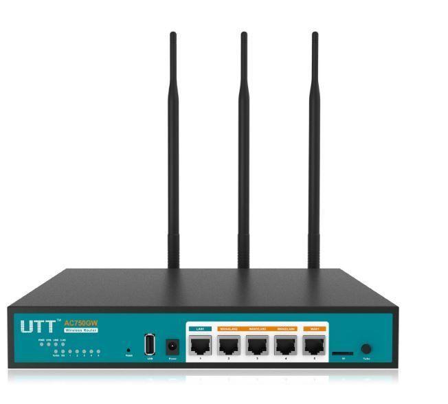 UTT AC750GW Business Dual Band Wireless AC Gigabit VPN Router Dual WAN ports New #UTT