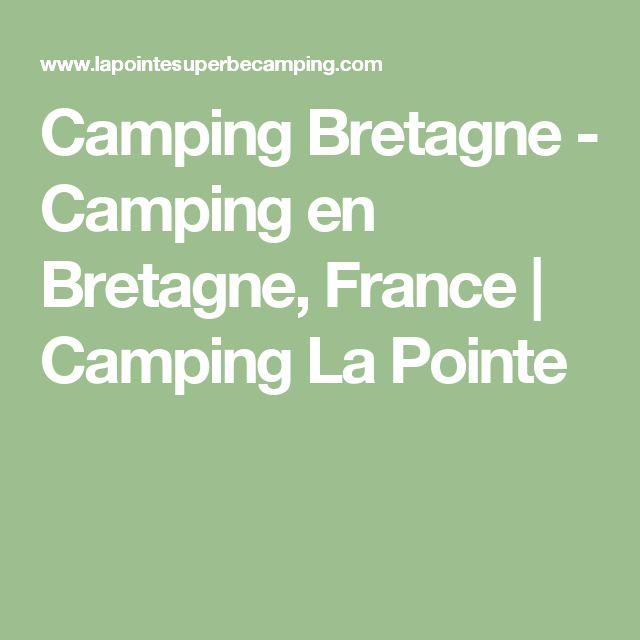Camping Bretagne - Camping en Bretagne, France | Camping La Pointe