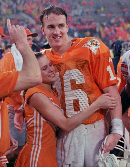 Peyton Manning. Never going to be ready to let him go.