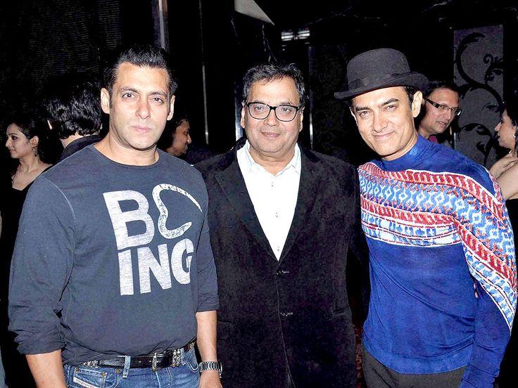 with Salman Khan and Subhash Ghai