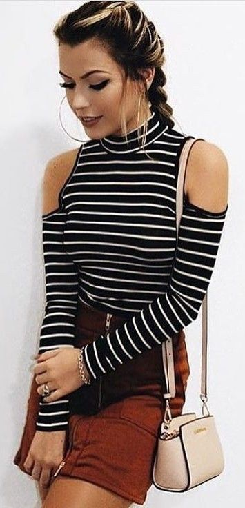 #summer #stripes #style  |  Stripes + Rust