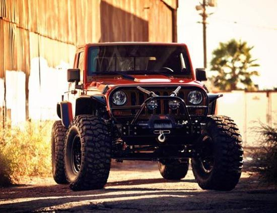 Jeep ready for off-road