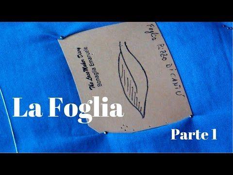 Tombolo Tutorial | La foglia Canturina - Parte 2 - YouTube