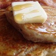 Brunch-Friendly Applesauce Pancakes