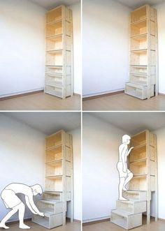 Фото №2 Стеллаж-лестница