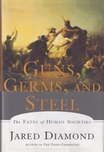 Guns, Germs, and Steel: The Fates of Human Societies is a 1997 transdisciplinary nonfiction book by Jared Diamond, professor of geography and physiology at the University of California.