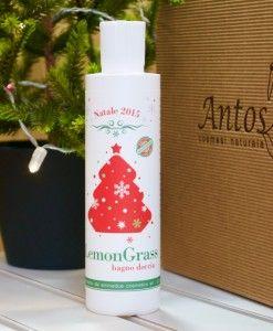 Bagno doccia idratante al lemongrass. Vestito a festa in edizione limitata su www.antoscosmesi.it