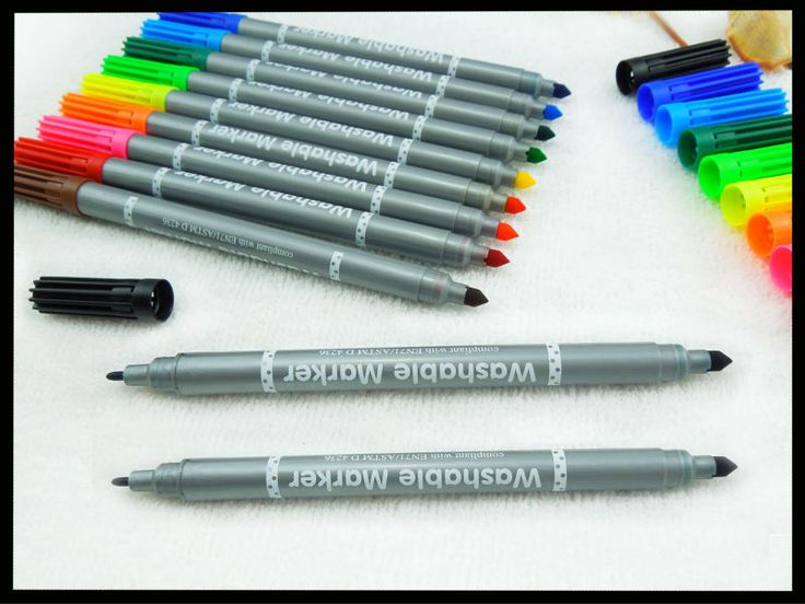 #Double tip water color pen, #water color pen, #color marker