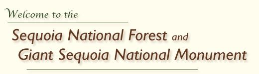Welcome to Sequoia National Forest and Giant Sequoia National Monument