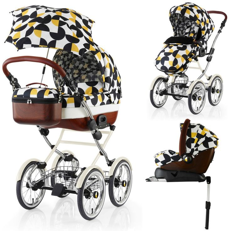Cosatto Wonder 3-in-1 Travel System (Hepburn) - The most beautiful one I think I've ever seen - If we were rich I totally would!