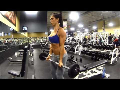 ▶ Bella Falconi - #wwbfd (Biceps Day) - YouTube