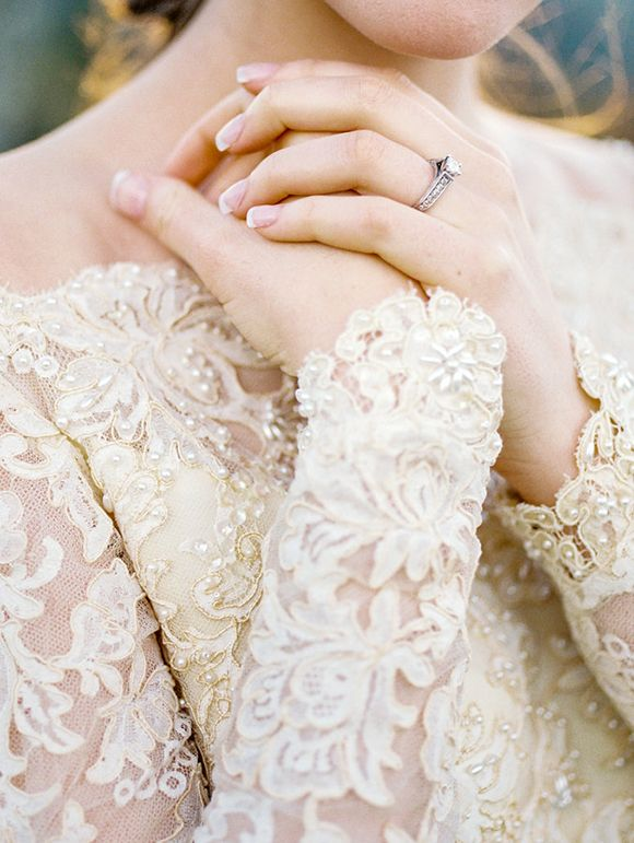 Sentimental fall bridal shoot