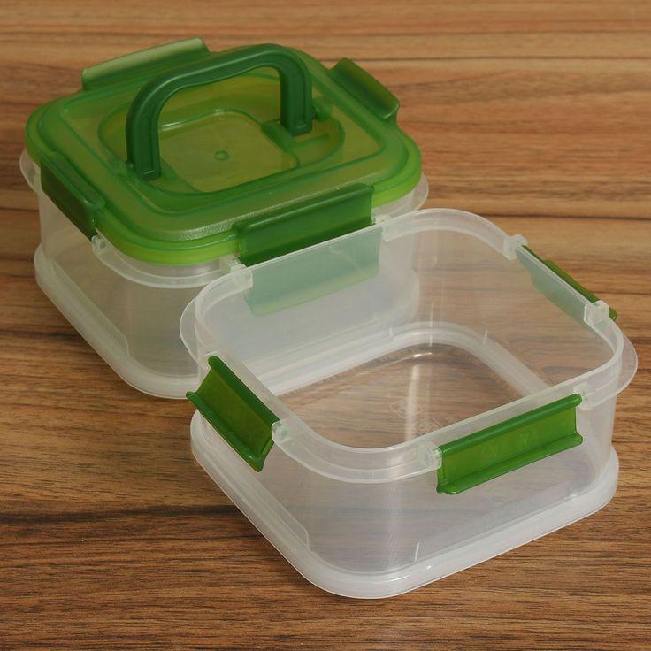 Купить Пластиковые Холодильник Кухня Coldbox Контейнерах Для Пищевых Прозрачный Герметичный Контейнер Два Слоя Многоцелевой Ящик Для Хранения 680 мл X2и другие товары категории Коробки и лотки для храненияв магазине Institute Of FoodнаAliExpress. x2 случае и коробка ткани