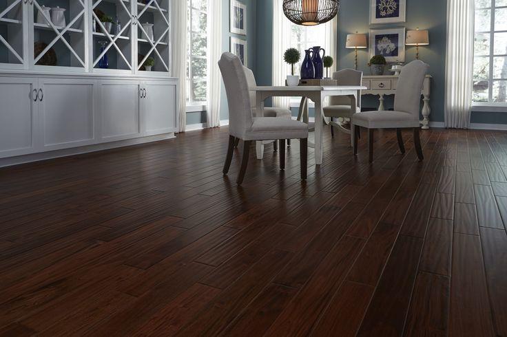 Dark Amp Distressed Bronzed Mahogany Quot Darker Flooring Is
