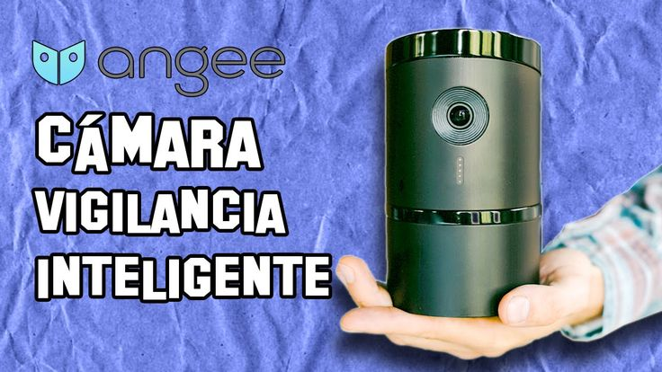 Angee Cámara de Vigilancia Inteligente | Smart Surveillance Camera