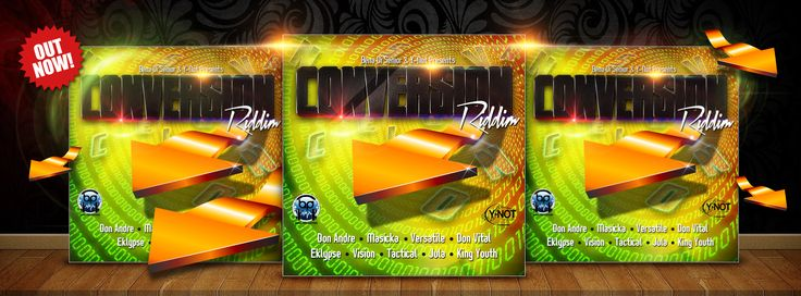 Conversion Riddim add for facebook