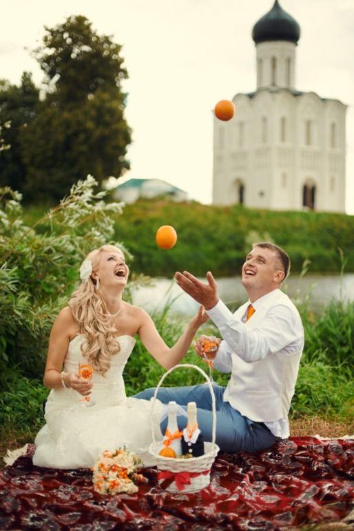 Апельсиновая свадьба сестры...