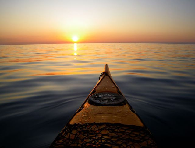 The 5 Hottest (And Not So Hot) Outdoor Sports of 2011, by @joe spring. (Pictured: Sea kayaking.)