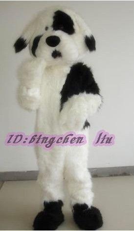 dog white and black  Halloween Cartoon Character Costume cosplay mascot Custom Products custom-made(s.m.l.xl.xxl) mascot