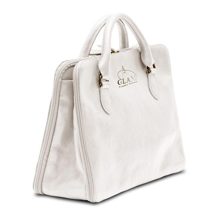 Shoulder handbag white