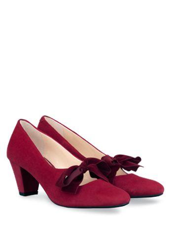 Muffy Black Velvet Shoe