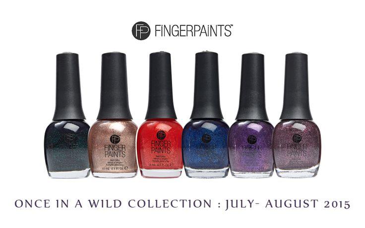 @FingerPaintsfun Once In Wild Collection available @sallybeauty – Press Release @alpsnailart