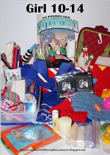 17 best I shoebox gifts images on Pinterest | Christmas shoebox ...