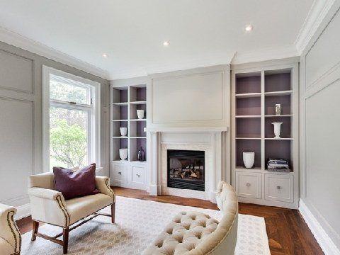 Living Room built in's