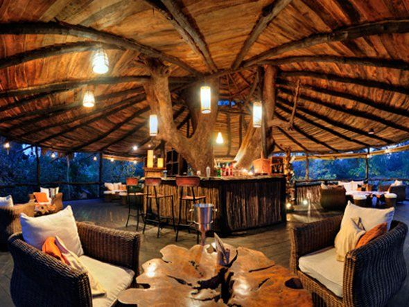 Awesome tree house interior amazing tree houses for Amazing houses inside