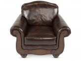 This lil squishy leather chair is too cute!