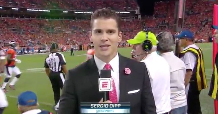 Sergio Dipp has been the best part of the Monday Night Football broadcast