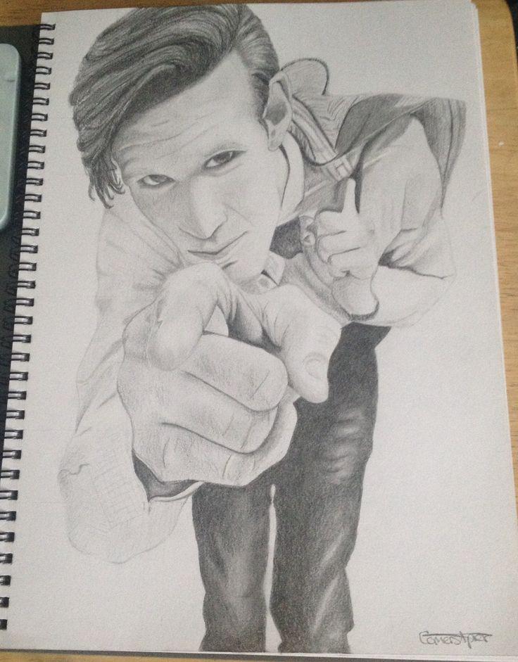 Matt smith doctor who drawing