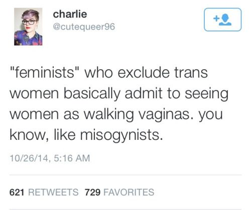 Trans women are women too