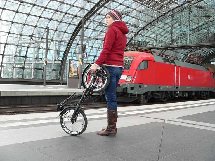 #footbike als Gepäckstück im Nah- und Fernverkehr #commute #kolobezka #footbike #tretroller #trottinette