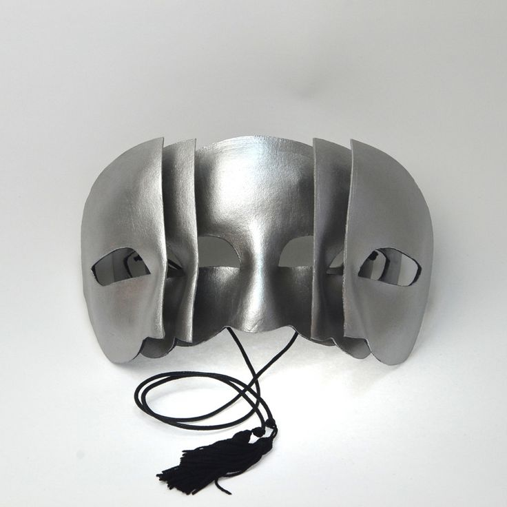Q. What are you when you seek your true nature? A. Who's asking? - Unisex and completely comfortable to wear three tiered leather mask. - Handmade of top quality, full grain leather. - Hand-cut and pa