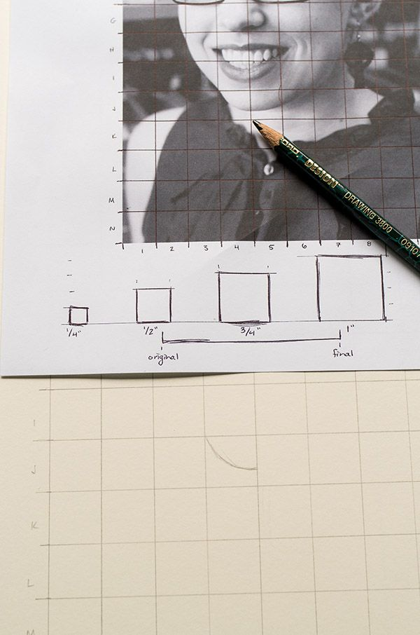 How to Use a Grid to Enlarge an Image While Drawing - Tuts+ Design & Illustration Tutorial