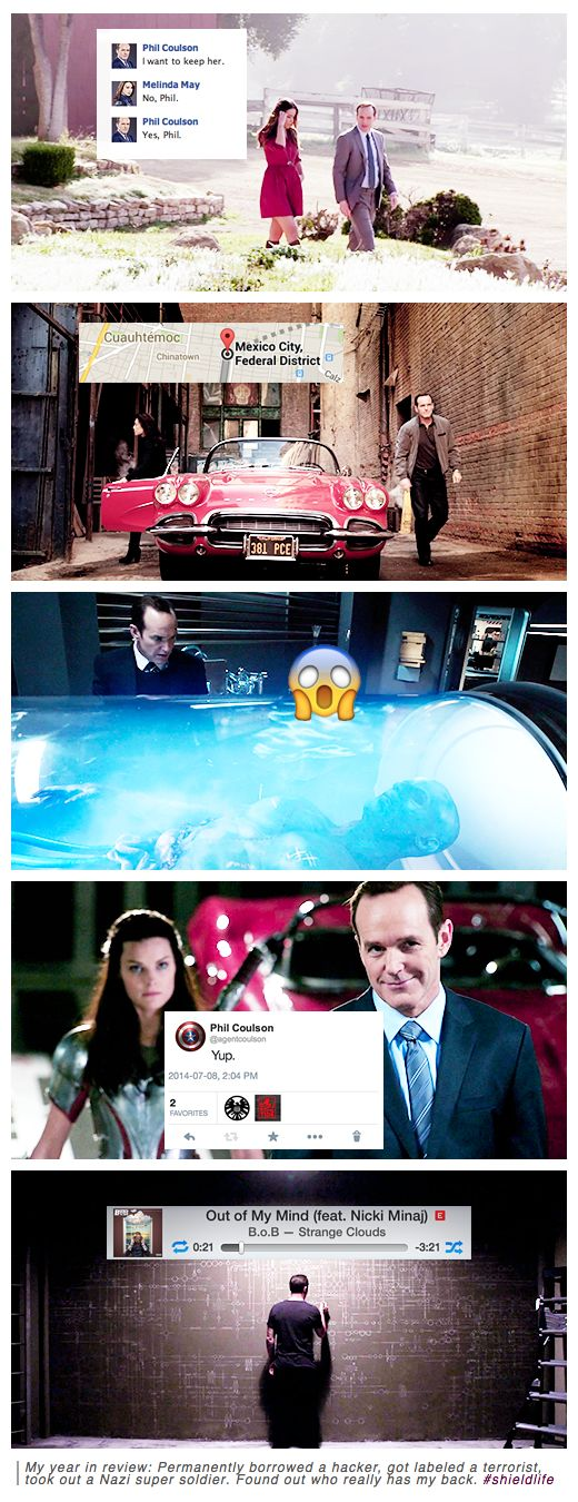 Coulson's Year in Review #fanedit #humor